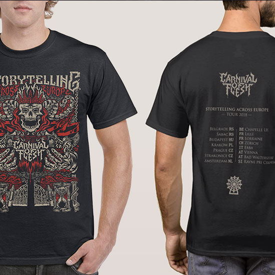 Tour Shirt (full view)